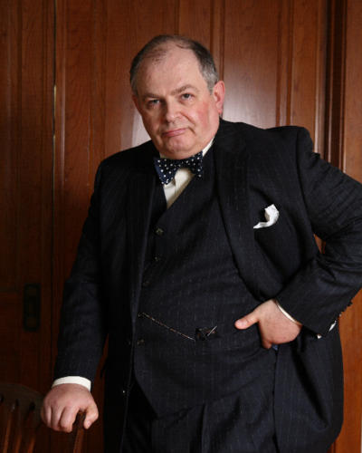 Andrew Edlin as Churchill